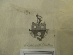 PR2751 .A4 1685, HON SPCL PHIL 1-bookplate