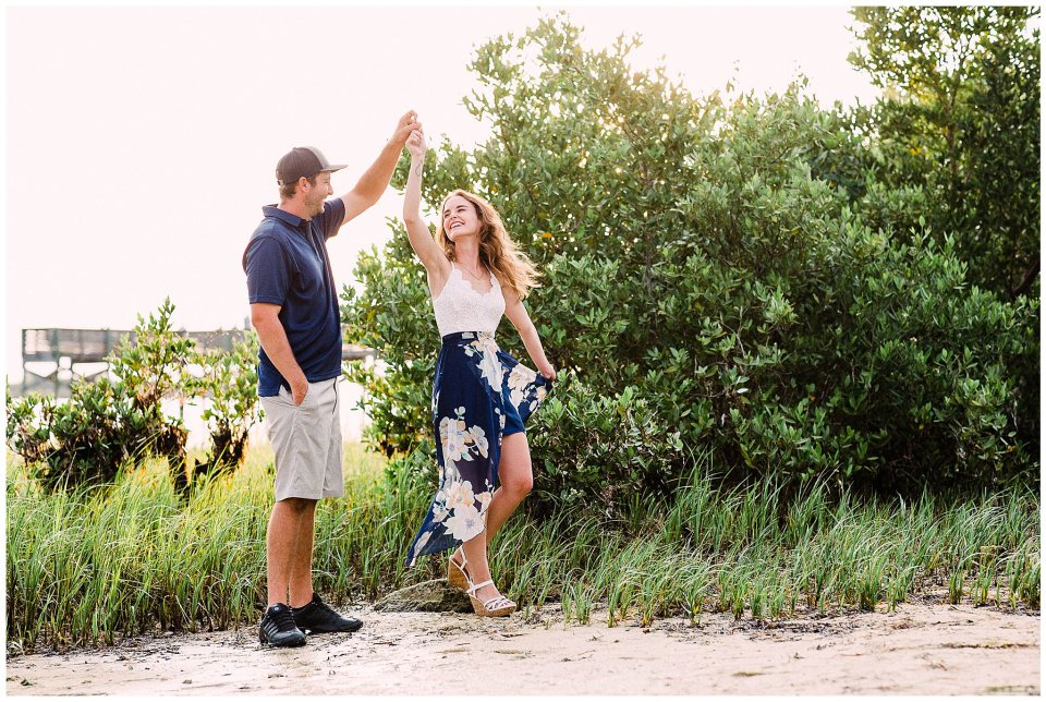 Engagement Session in the Mangrove trees
