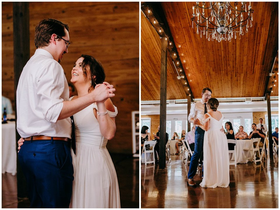 first dance at Cavallo Reception