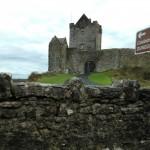 Castle ruins on road to Galway, Ireland