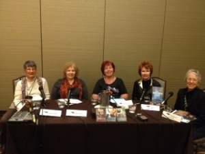 Romantic Suspense panel