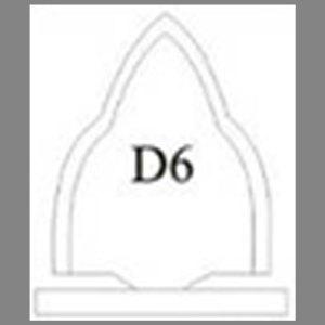 แบบโล่ห์อะคริลิก D6