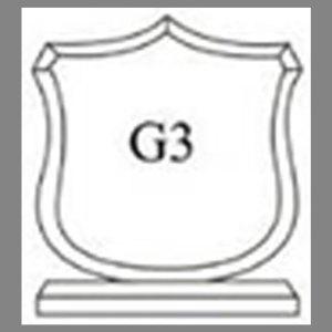 แบบโล่ห์อะคริลิก G3