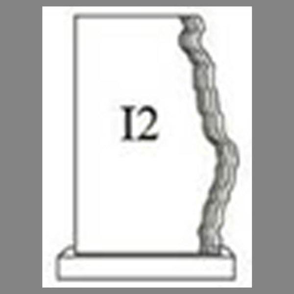 แบบโล่ห์อะคริลิก I2