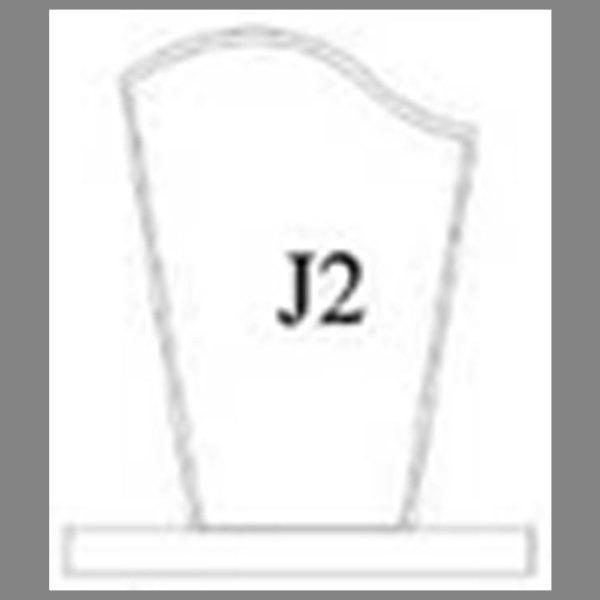 แบบโล่ห์อะคริลิก J2