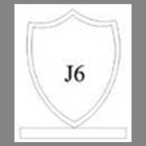 แบบโล่ห์อะคริลิก J6