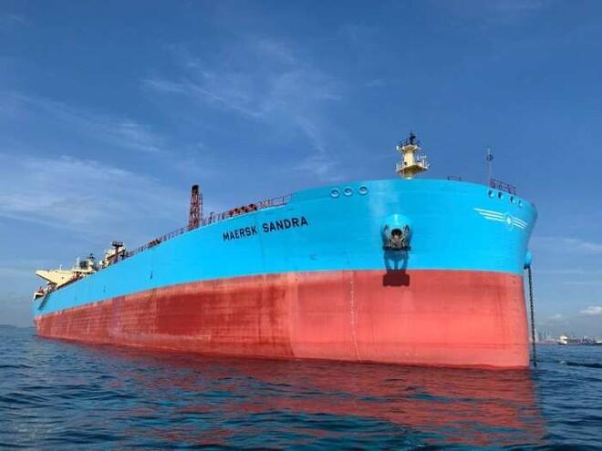 Maersk sælger ufærdige produkttankere