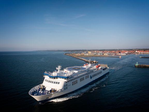 Dansk færge genstarter Tysklands-rute