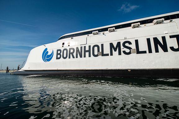 10.000 færre passagerer end sidste år hos Bornholmslinjen