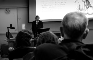 Dr Acott introducing GMC