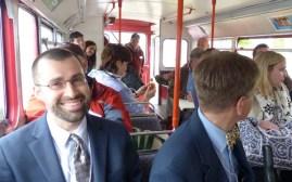 bus tour Rob Doane
