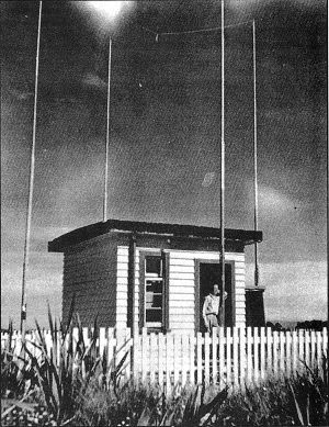 Marconi G 12 Radio Direction Finder at Awarua Radio ZLB