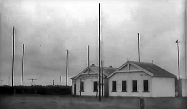 Chatham Islands Radio ZLC in 1947