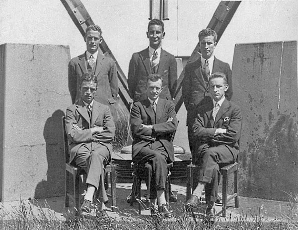 Staff of Awarua Radio c1930