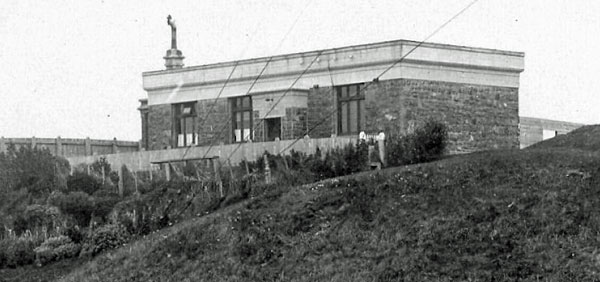 Wellington Radio transmitter building, c1912