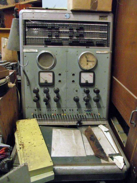 Telephone terminal of the type installed by Don Nicol at Chatham Islands Radio in 1965. Now at the Ferrymead museum.