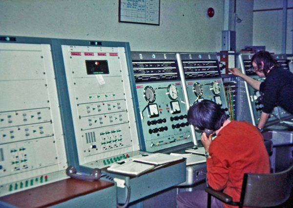 Circuits at Wellington Radphones for Chatham Islands, Scott Base and Rarotonga, c1970