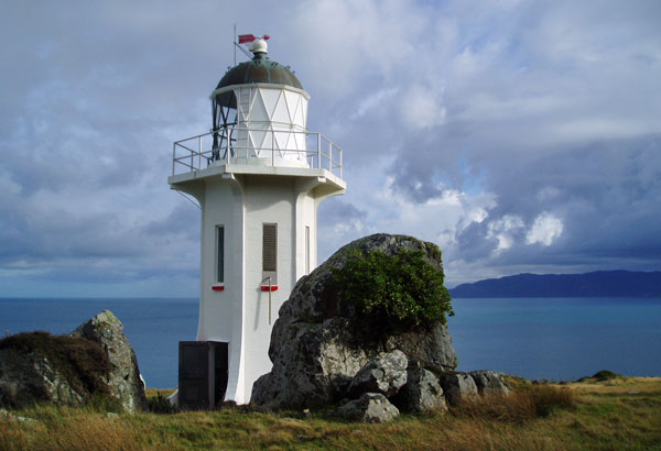 Baring Head Lighthouse, as it is today