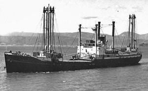 Union Steam Ship Co collier Kawatiri