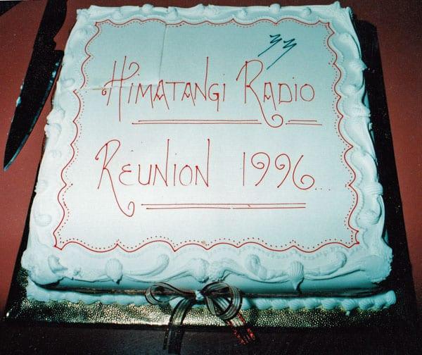 Himatangi Radio reunion cake