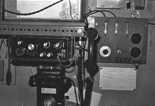 Radio equipment at Vanda Station 1969-1970
