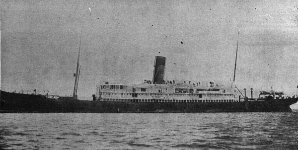 RMS Tahiti in 1915