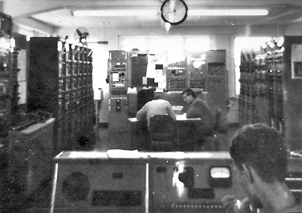 Makara Radio during a 4pm-12am shift in the mid 1960s