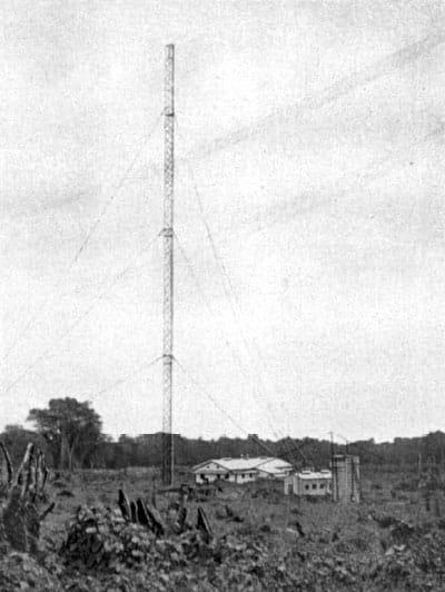 Apia wireless station