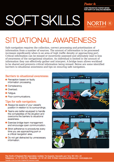 North of England - Situational Awareness Poster
