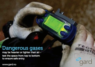 Gard - Dangerous Gases Poster