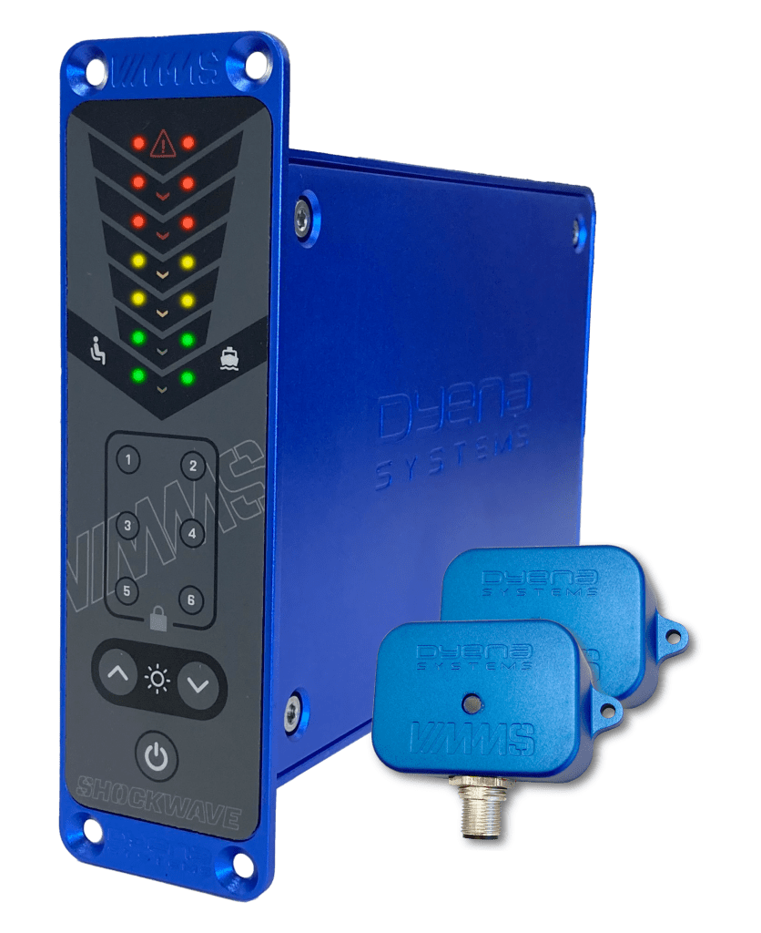 VIMMS system with two remote sensors