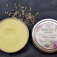 Makes 3 Organics Organic Lavender Miracle Body Balm