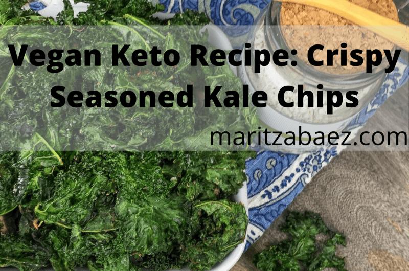 Vegan Keto Recipe: Crispy Seasoned Kale Chips