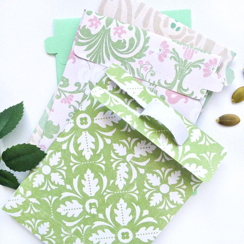 DIY Stationery: Tear-away Seed Envelopes