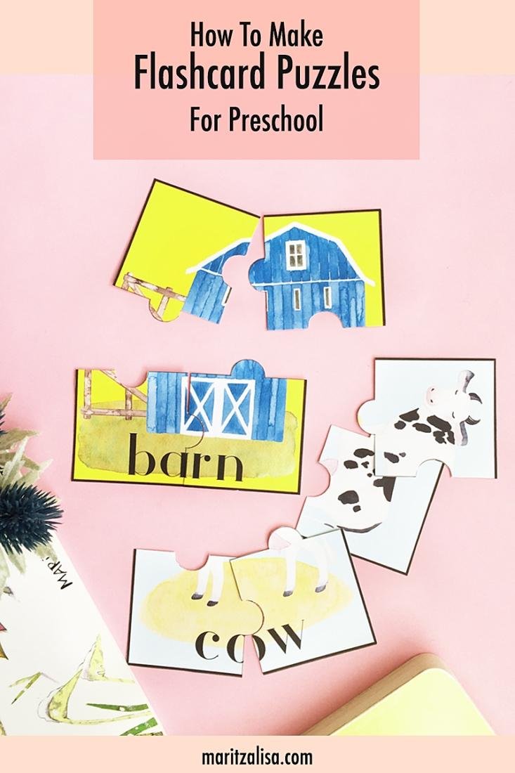 DIY Flashcard Puzzles - Maritza LisaMaritza Lisa