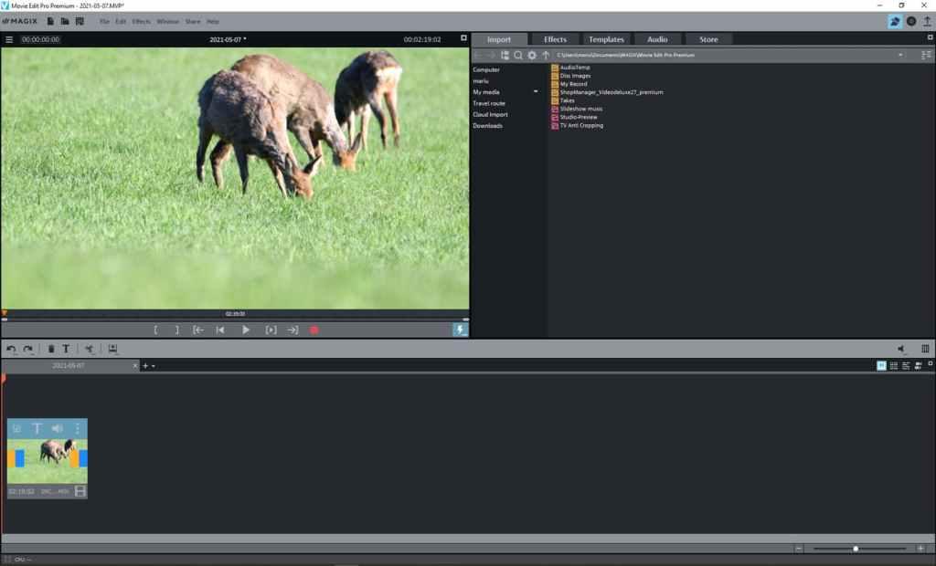 MAGIX Movie Edit Pro Premium - video editor