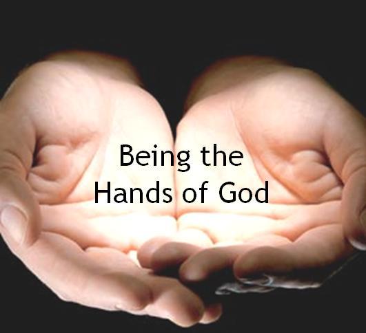 mainile lui Dumnezeu