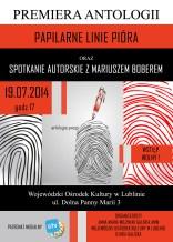 antologia poezji plakat mał roz