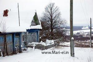 Деревня Курыктӱр Волжского района Марий Эл