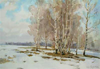 С. Алдушкин «Веснние березки», 2008