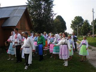 Этнографический праздник в туристском комплексе «Раздолье»