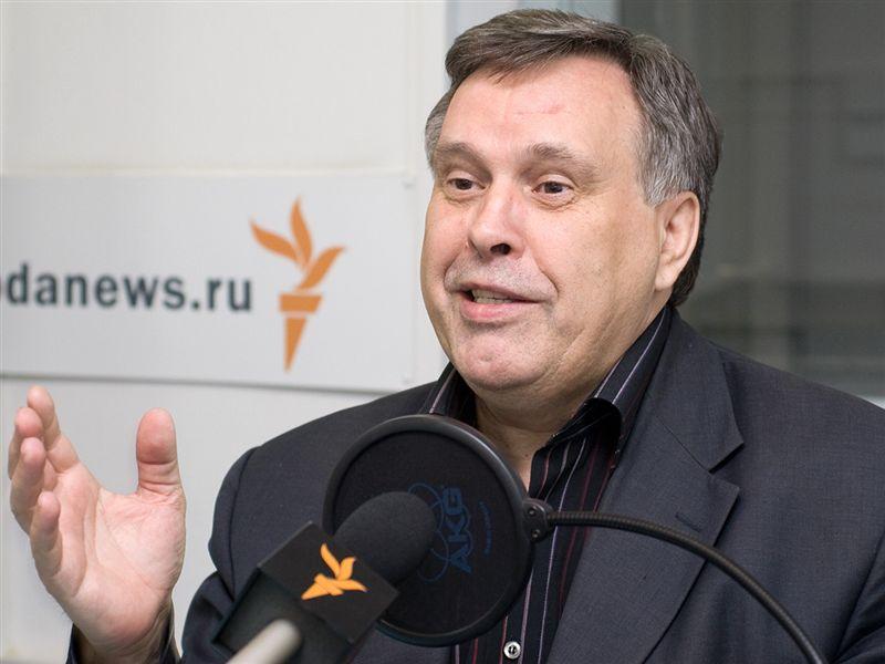 Виктор Илюхин в студии Радио Свобода