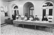 """Регистрация участников I Съезда """"Марий ушем"""" 7-8 апреля 1990"""