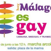 Hoy Málaga es LGTB