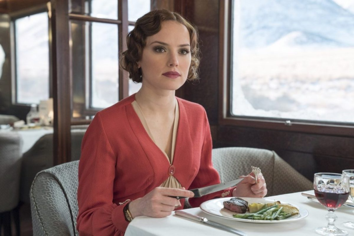 Daisy Ridley di Murder on the Orient Express