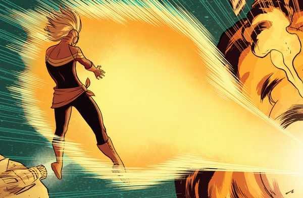 Kekuatan Captain Marvel: energi radiasi
