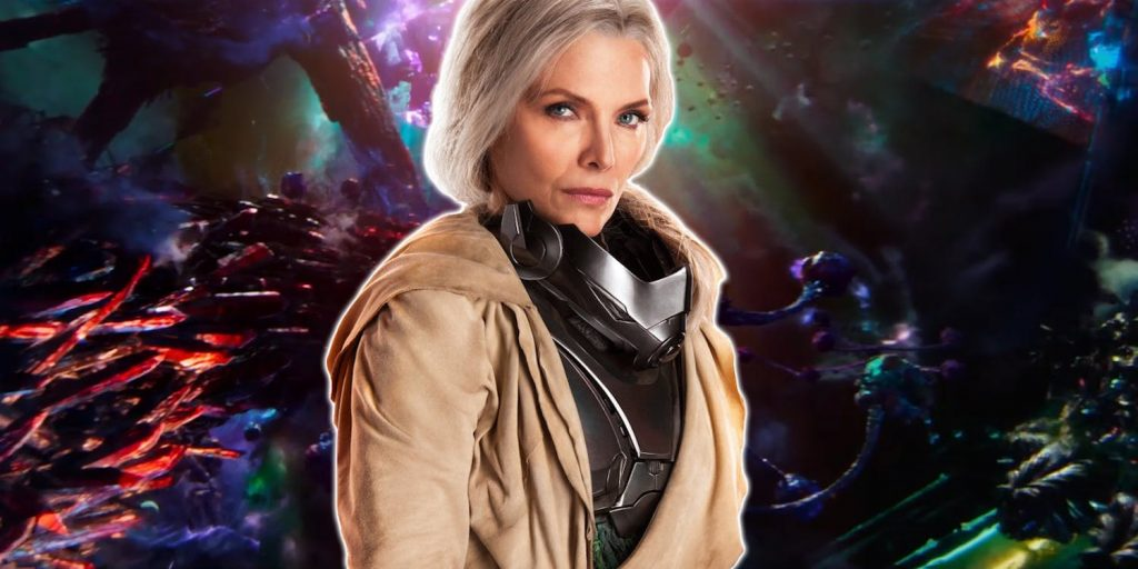 Michelle Pfeiffer dalam Ant-Man and the Wasp