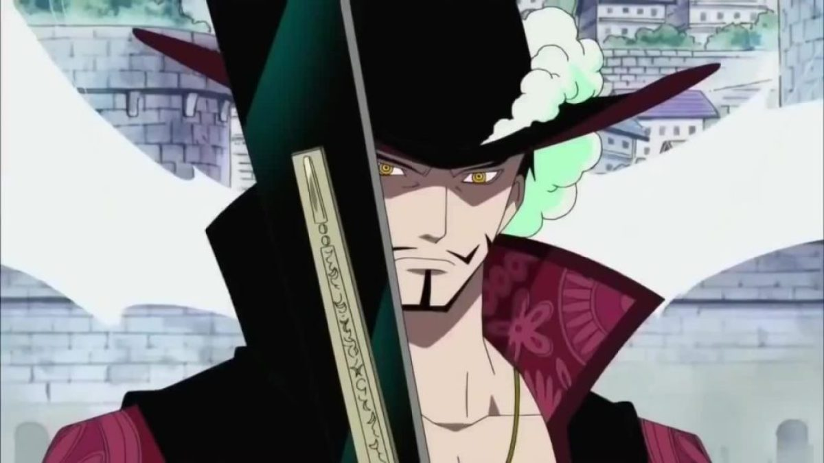mariviu mihawk Karakter One Piece Terkuat