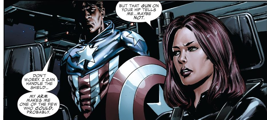 Bucky Barnes sebagai Captain America