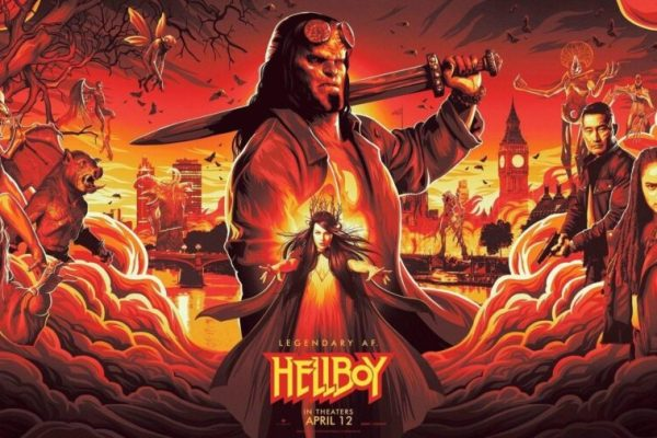 cover film Hellboy 2019
